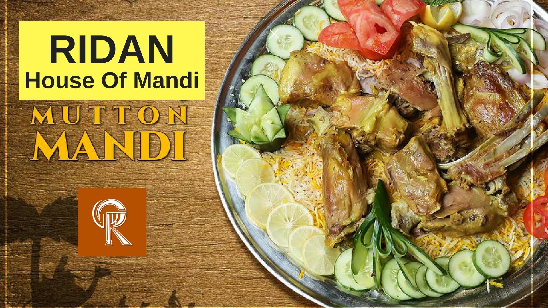 Mnadi served at ridan house of mandi