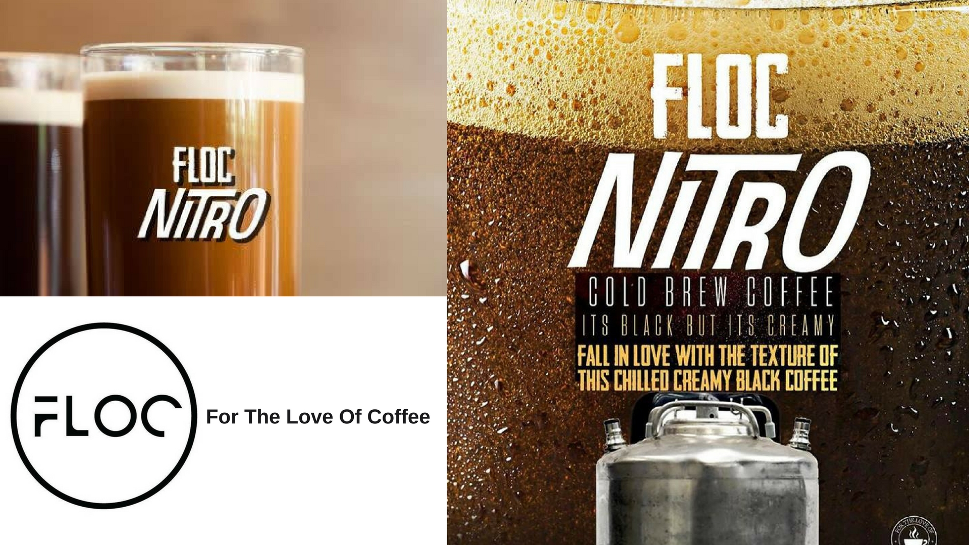 nitro coffee at FLOC