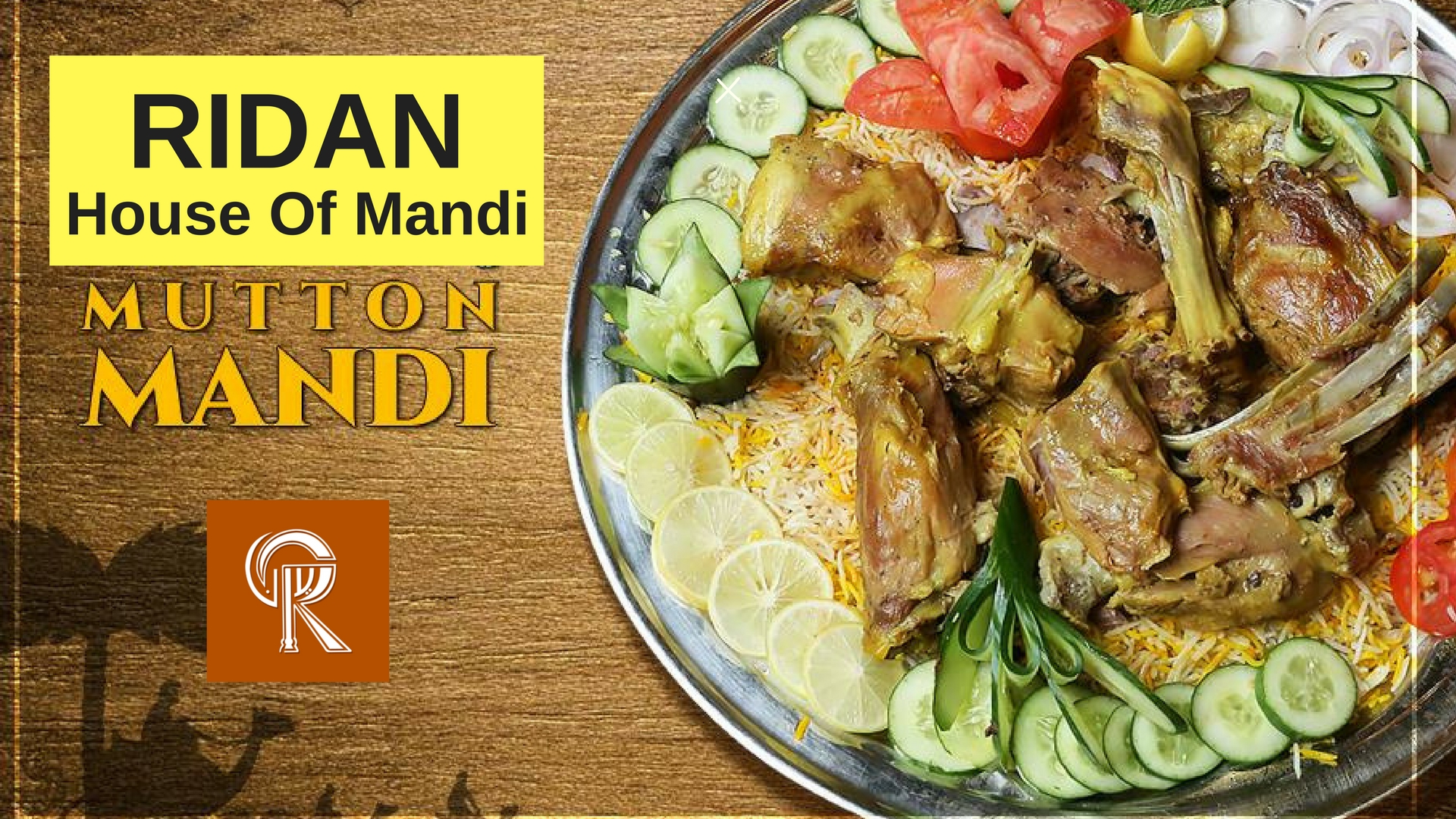 Mnadi served at ridan house of mandi