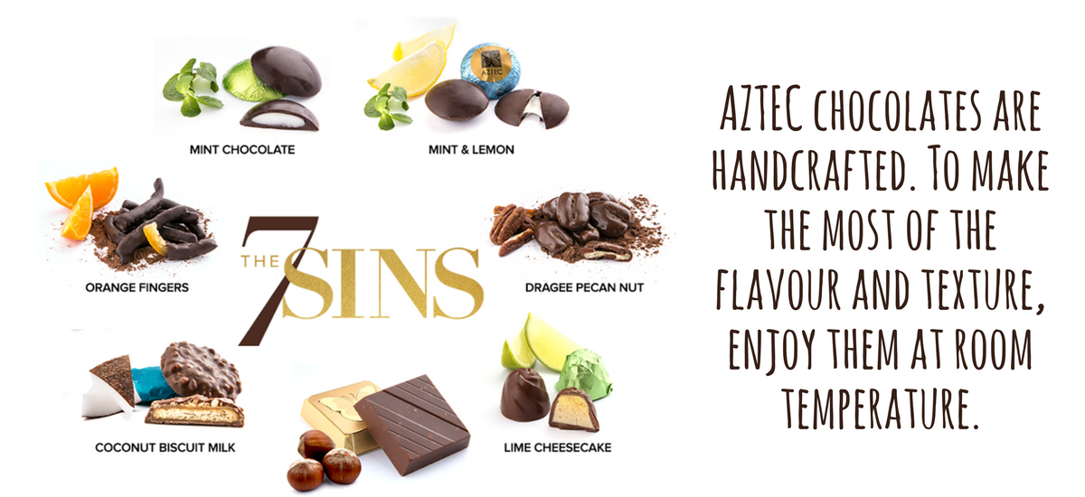 7 types of chocolates