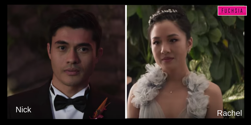 Nick and rachel from crazy rich Asians