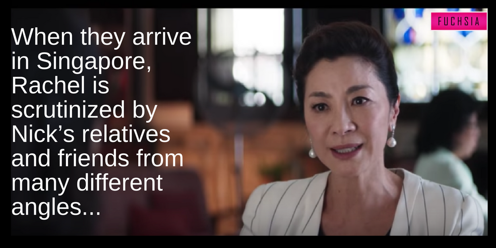 Michelle Yeoh is the evil mother in the book