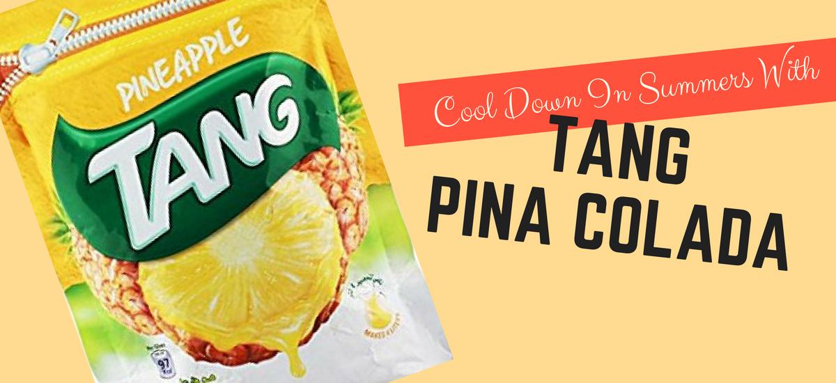 pineapple tang for pina colada