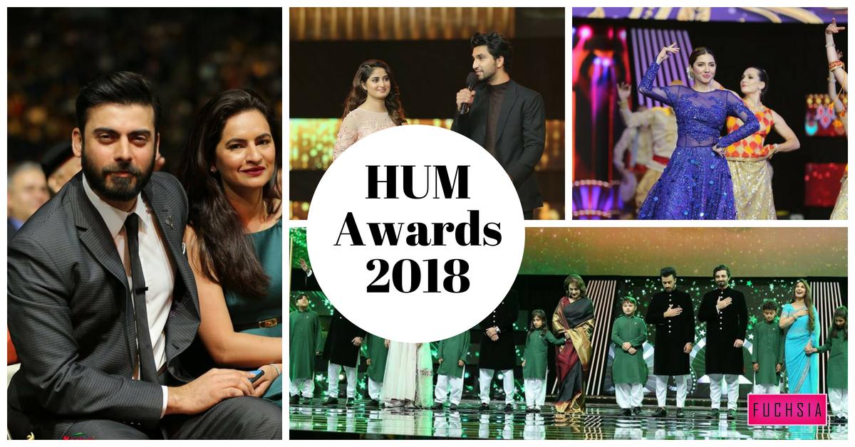 HUM Awards, HUM Awards 2018