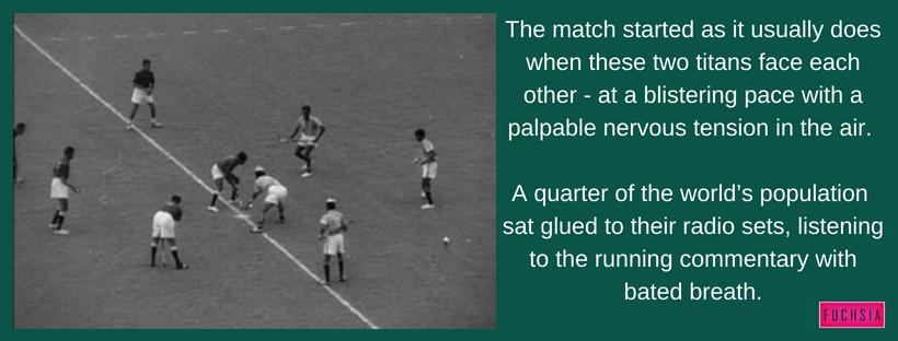 Rome Olypmics 1960, Pakistan vs India, Gold Medal