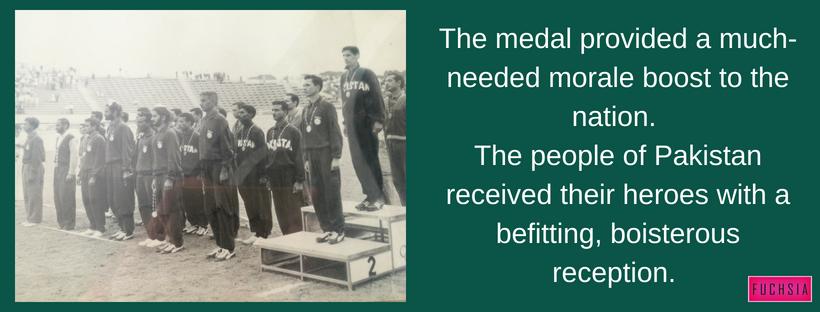 Pakistan Hockey, Rome Olympics 1960