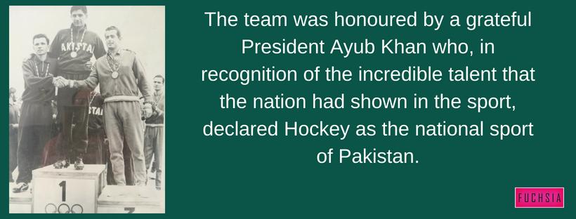 Abdul Hamid, Hamidid, Pakistan Hockey Captain, Rome 1960