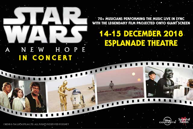Star Wars Episode 4, Singapore events, Things to do in Singapore