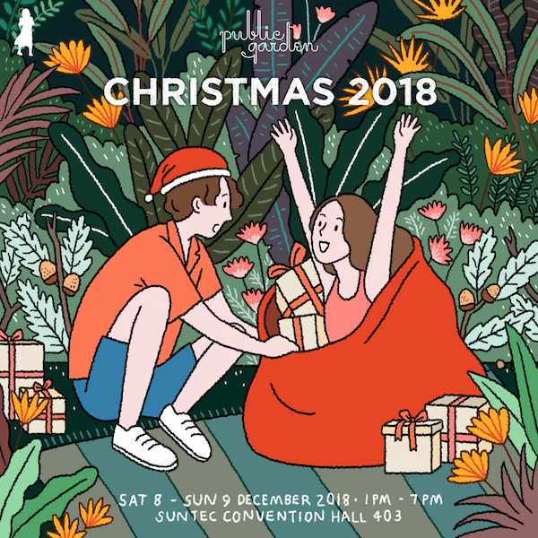 Singapore Christmas Fairs, Christmas Markets in Singapore, Public Garden, Local Crafts in Singapore