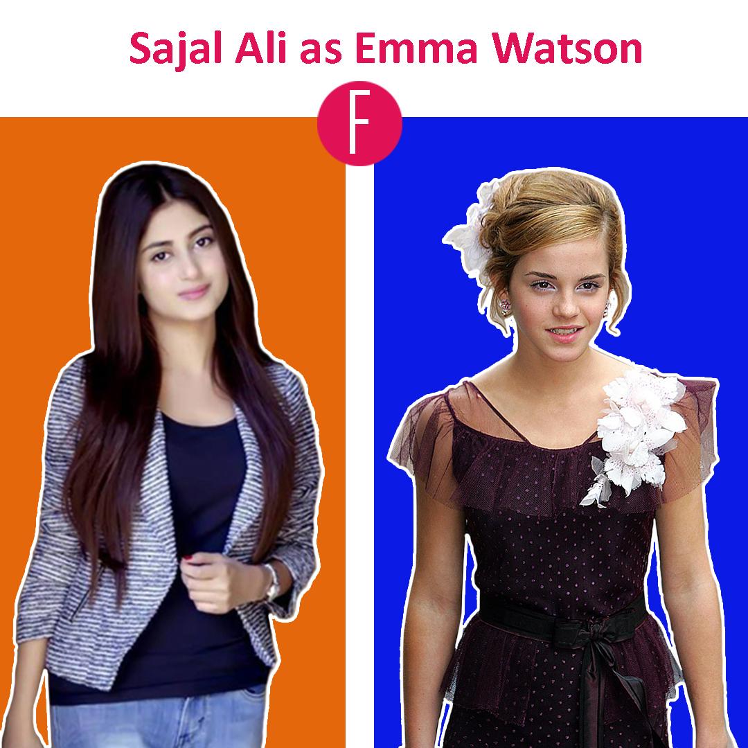 emma watson - Sajal Aly
