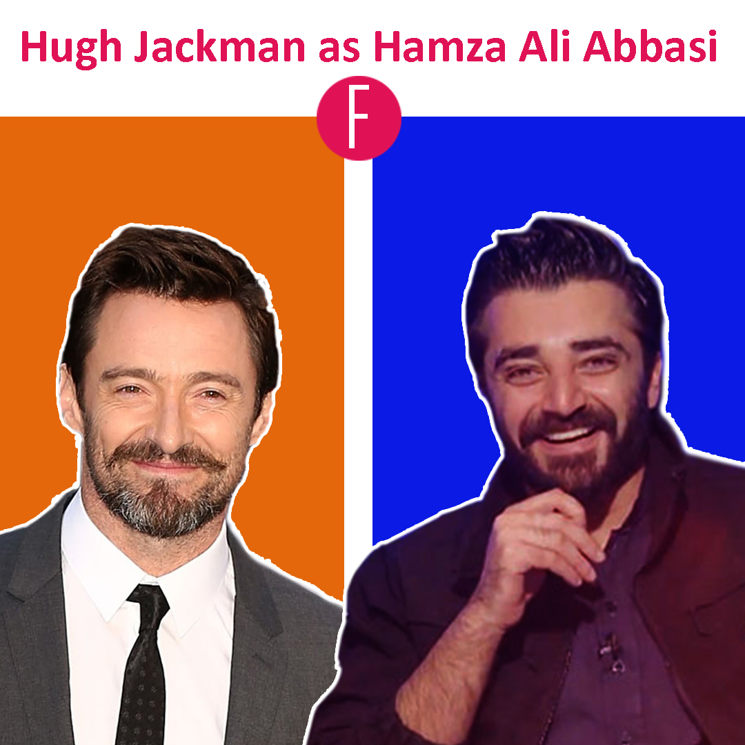 hamza ali abbasi - Hugh jackman