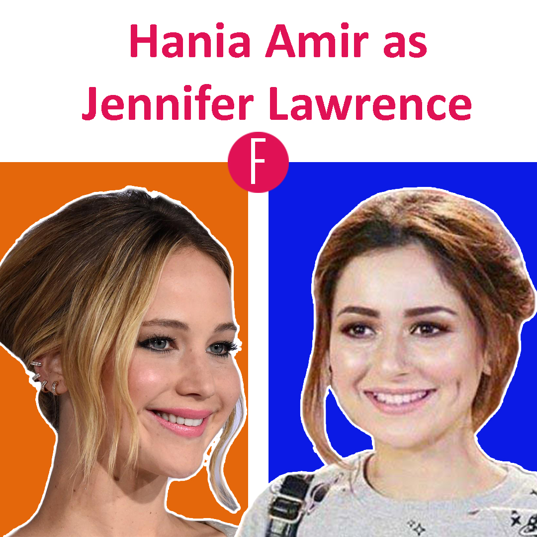 jennifer lawrence - hania aamir