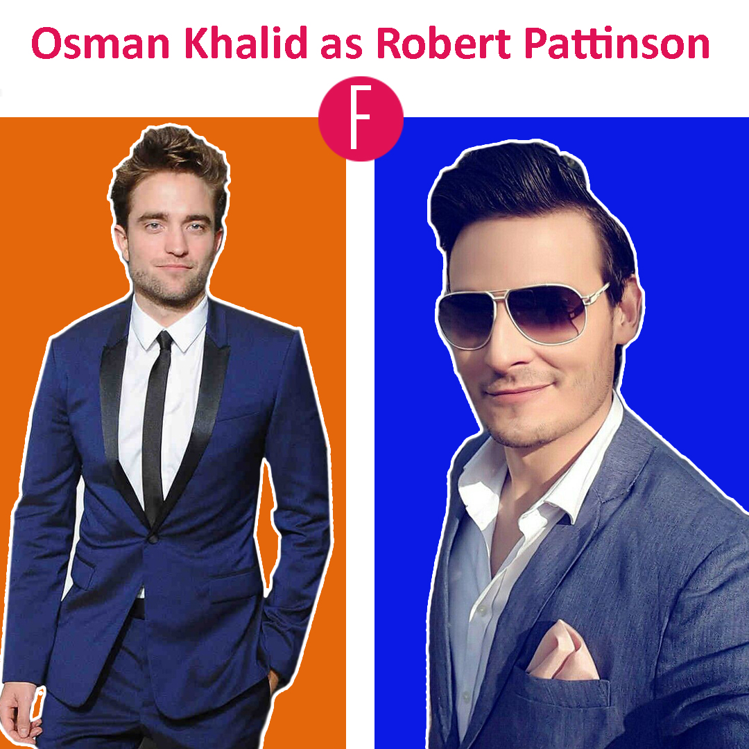 osman khalid butt - robert pattinson