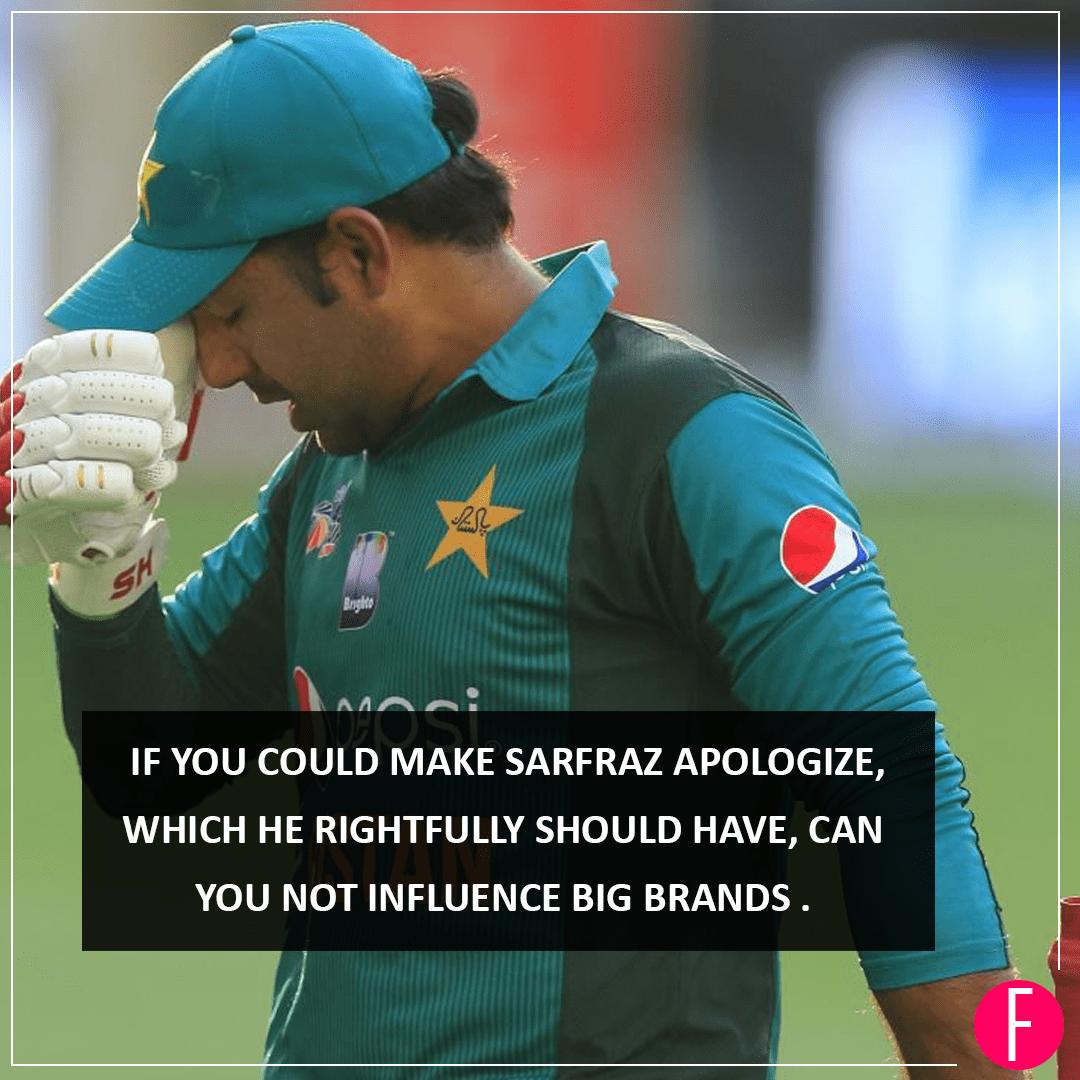 Of Cricket, Racism, Sarfaraz and Whitening Creams