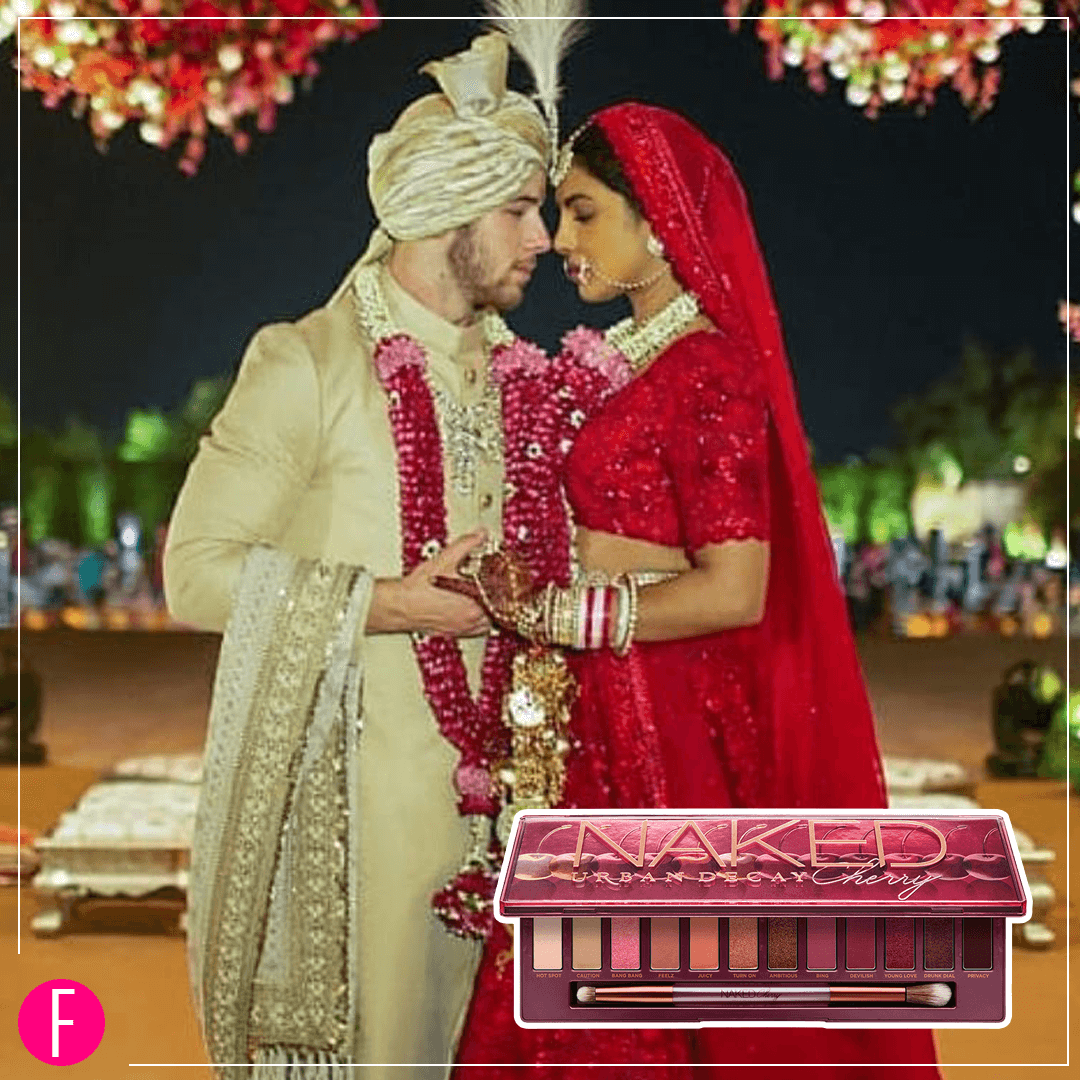 Did Anushka use THIS Eye Makeup Palette on her wedding?