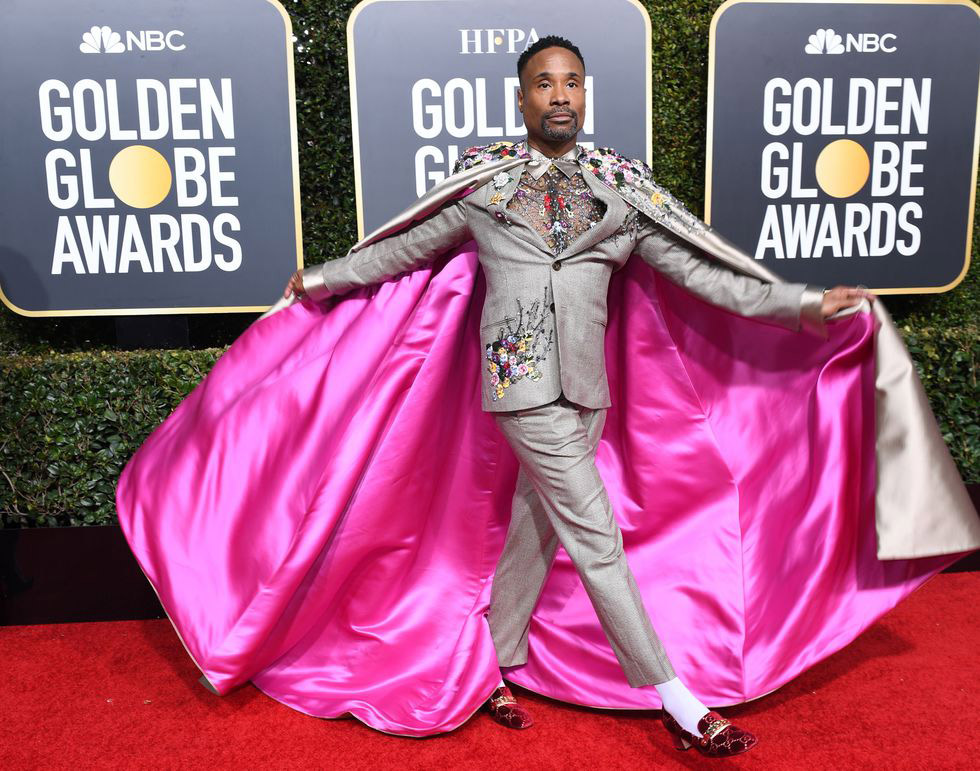 Billy Porter, Golden Globes 2019