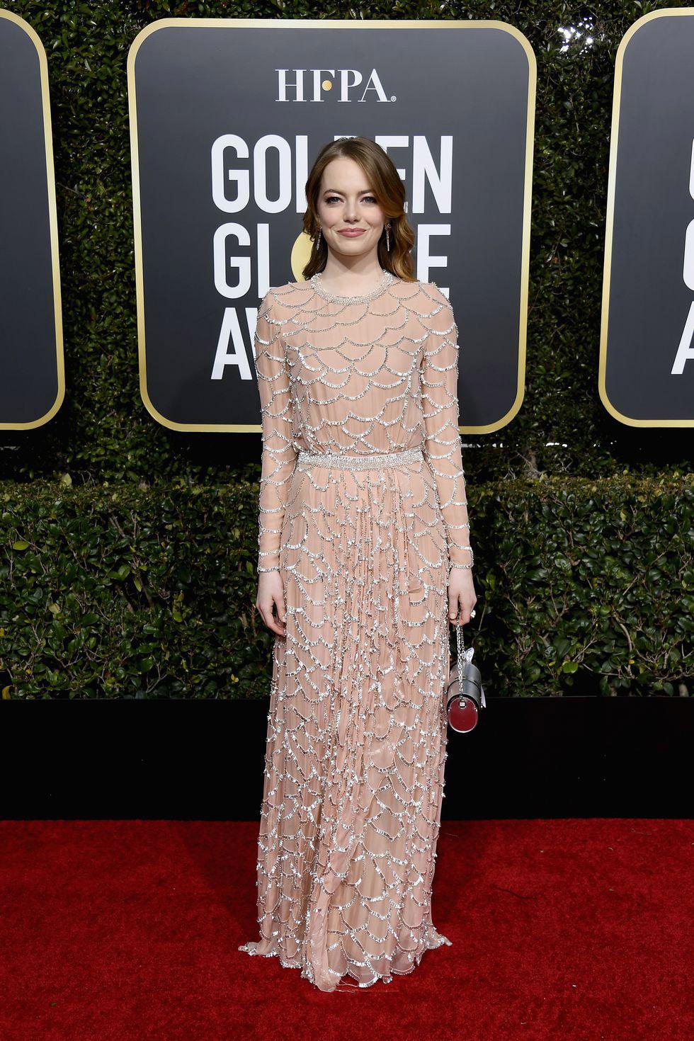 Emma Stone, Golden Globes 2019