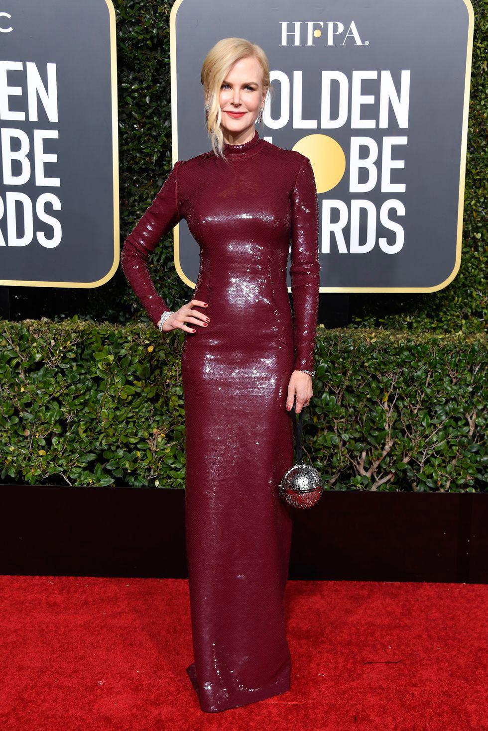 Nicole Kidman, Golden Globes 2019