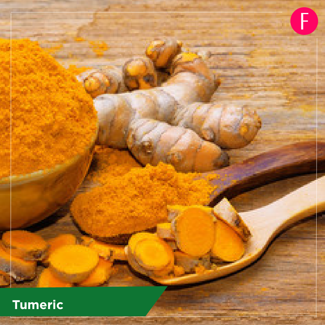 turmeric, 5 everyday foods