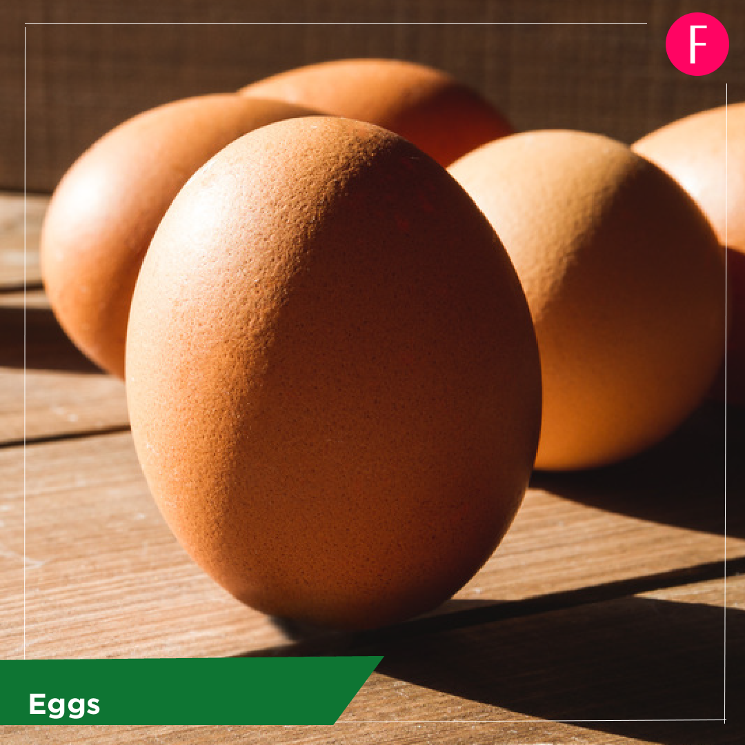 Eggs, 5 everyday foods