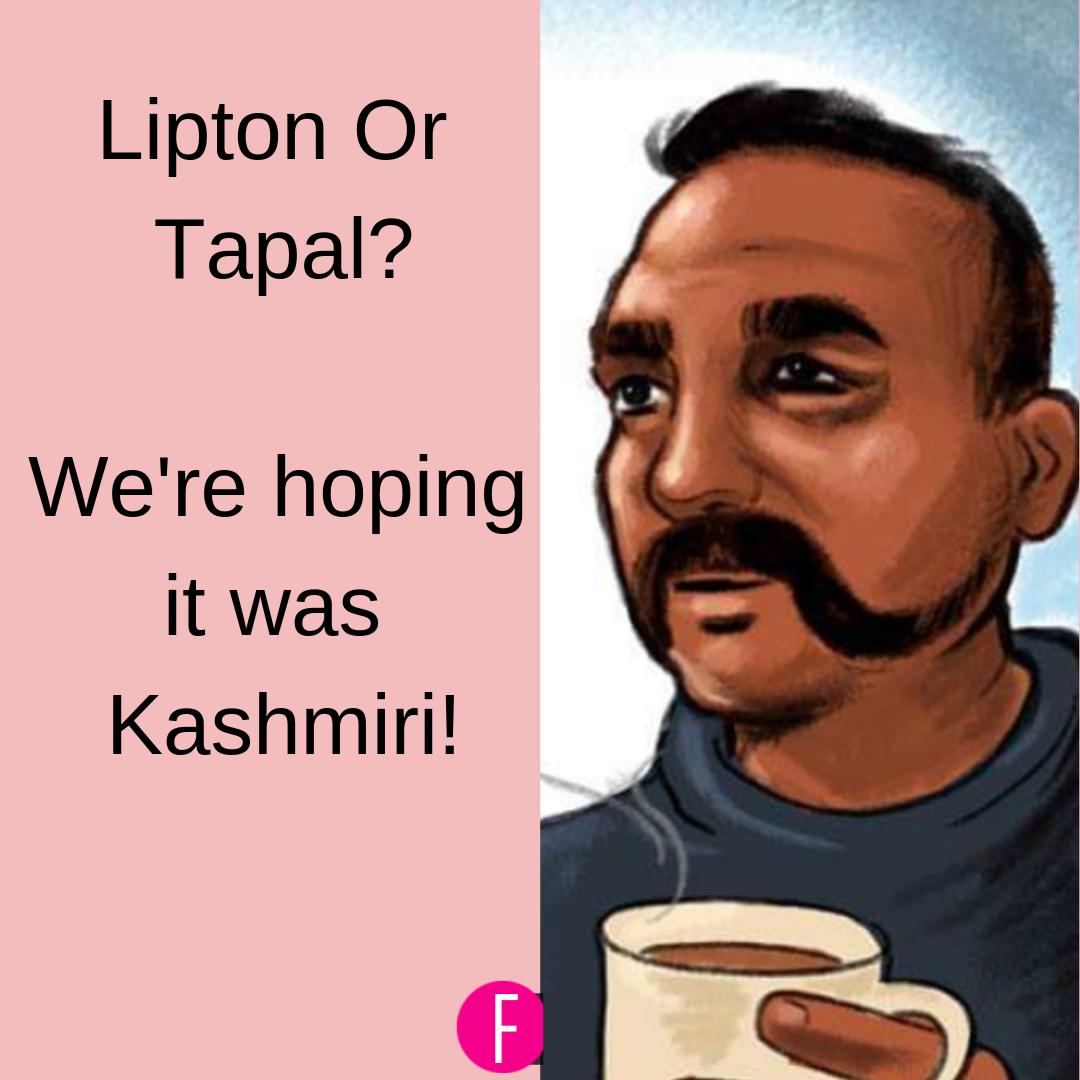 India, Pakistan, Kashmiri Chai, Abhinandan