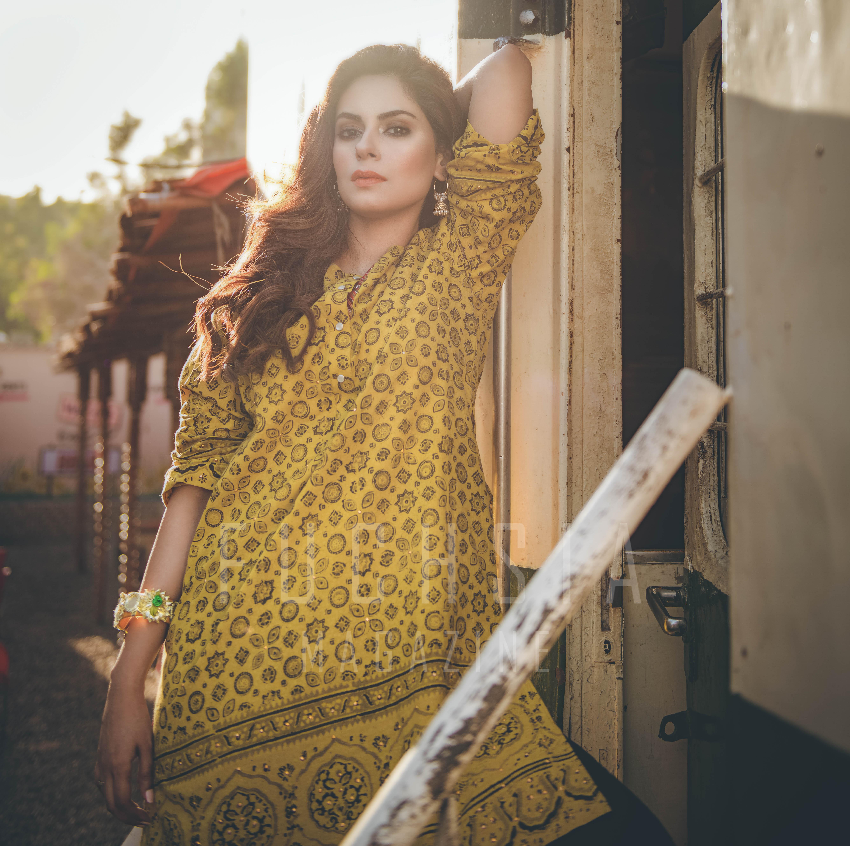 ajrak. Pakistani fashion, ajrak kurta, ajrak shirt