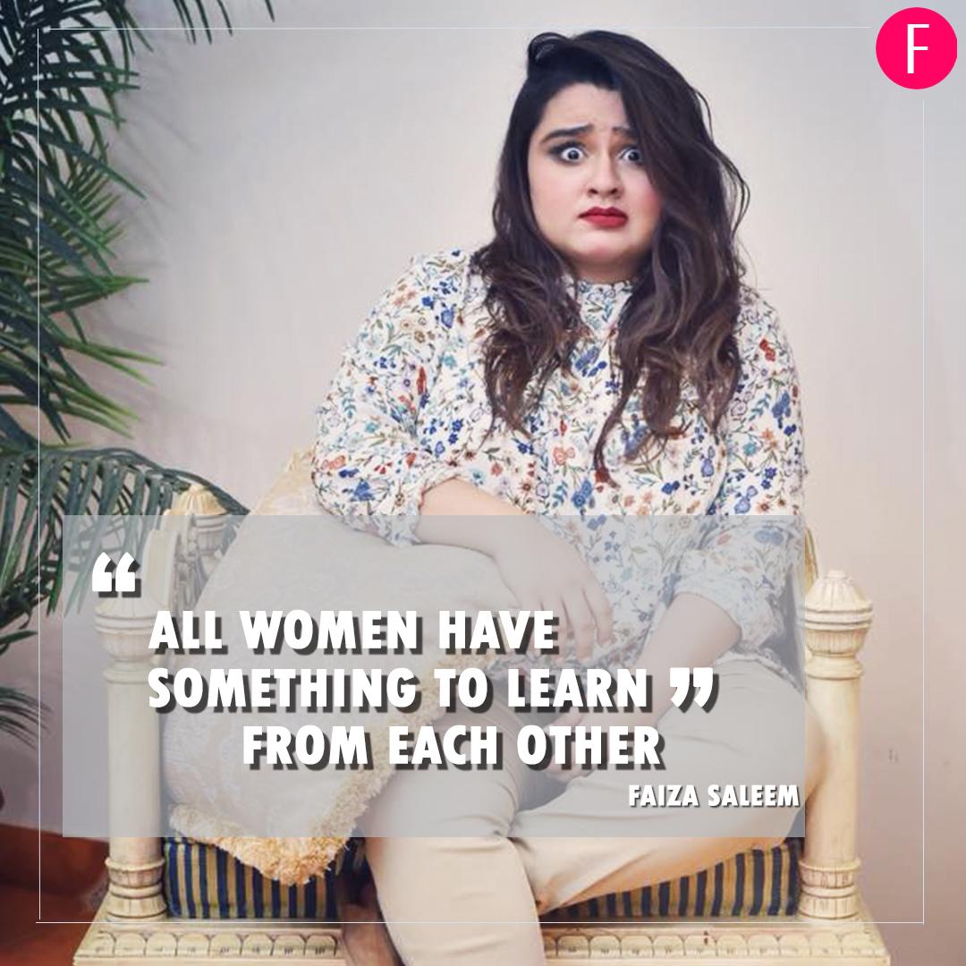 Faiza Saleem. Women's day