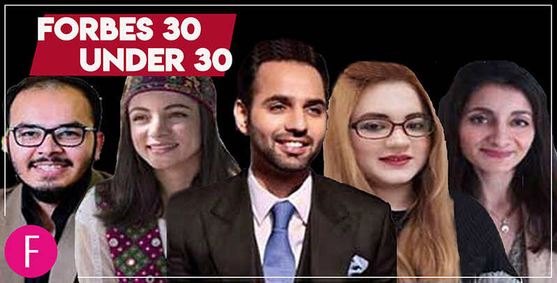 Forbes list, forbes 30 under 30, forbes Pakistanis