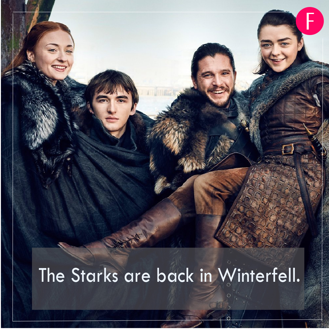 Game of Thrones, GOT Season 8, GOT, Winterfell